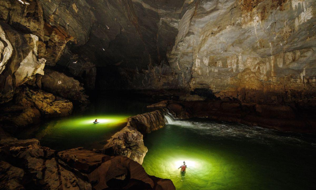 Exploring Vietnam's caves