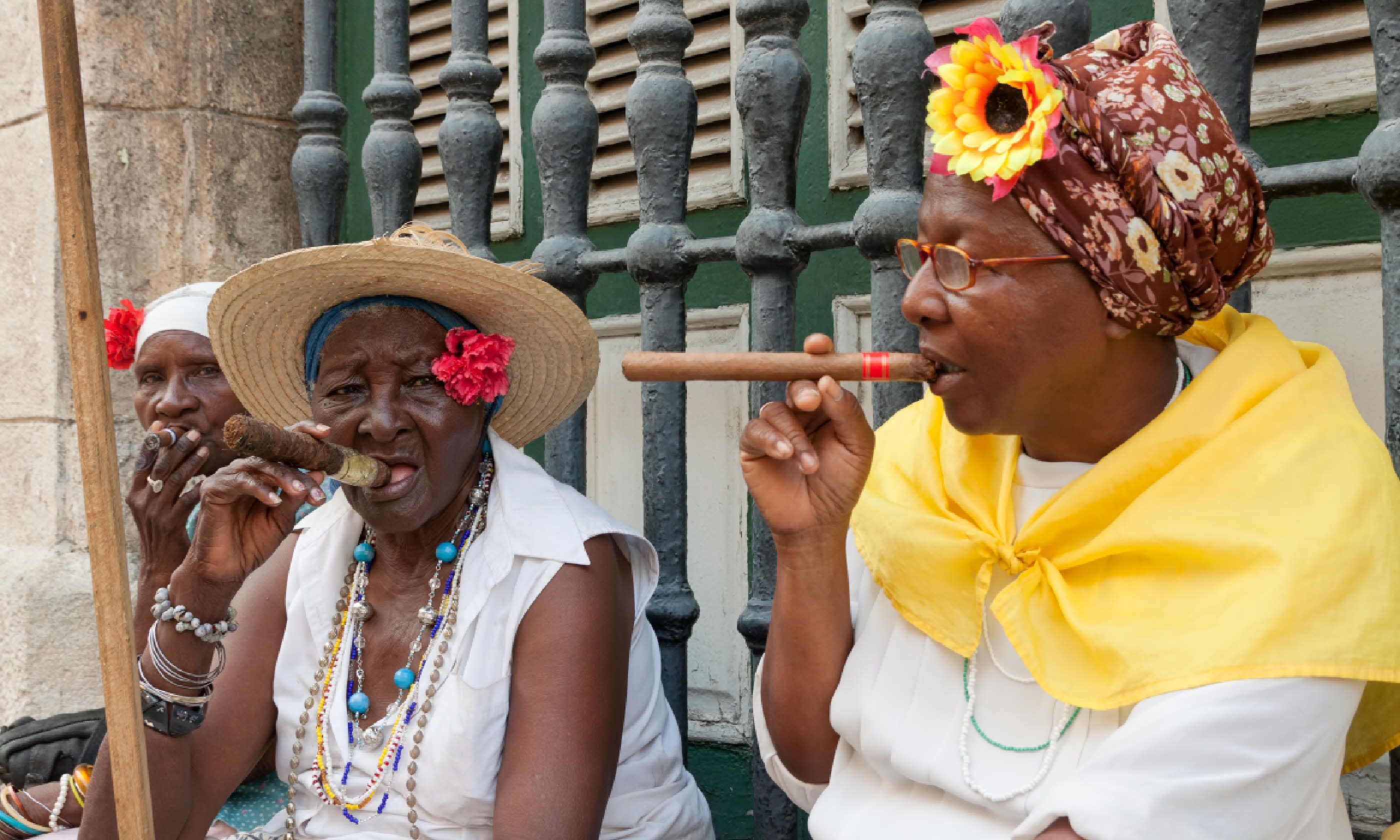 Old ladies with Cuban cigars: soon to be a thing of the past? (Shutterstock)