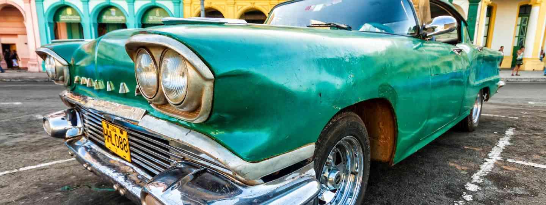 Vintage Cadillac in Havana (Shutterstock: see credit below)