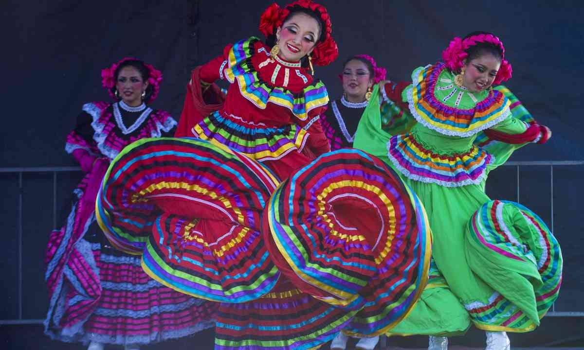 Mexican dancers. From Shutterstock.com