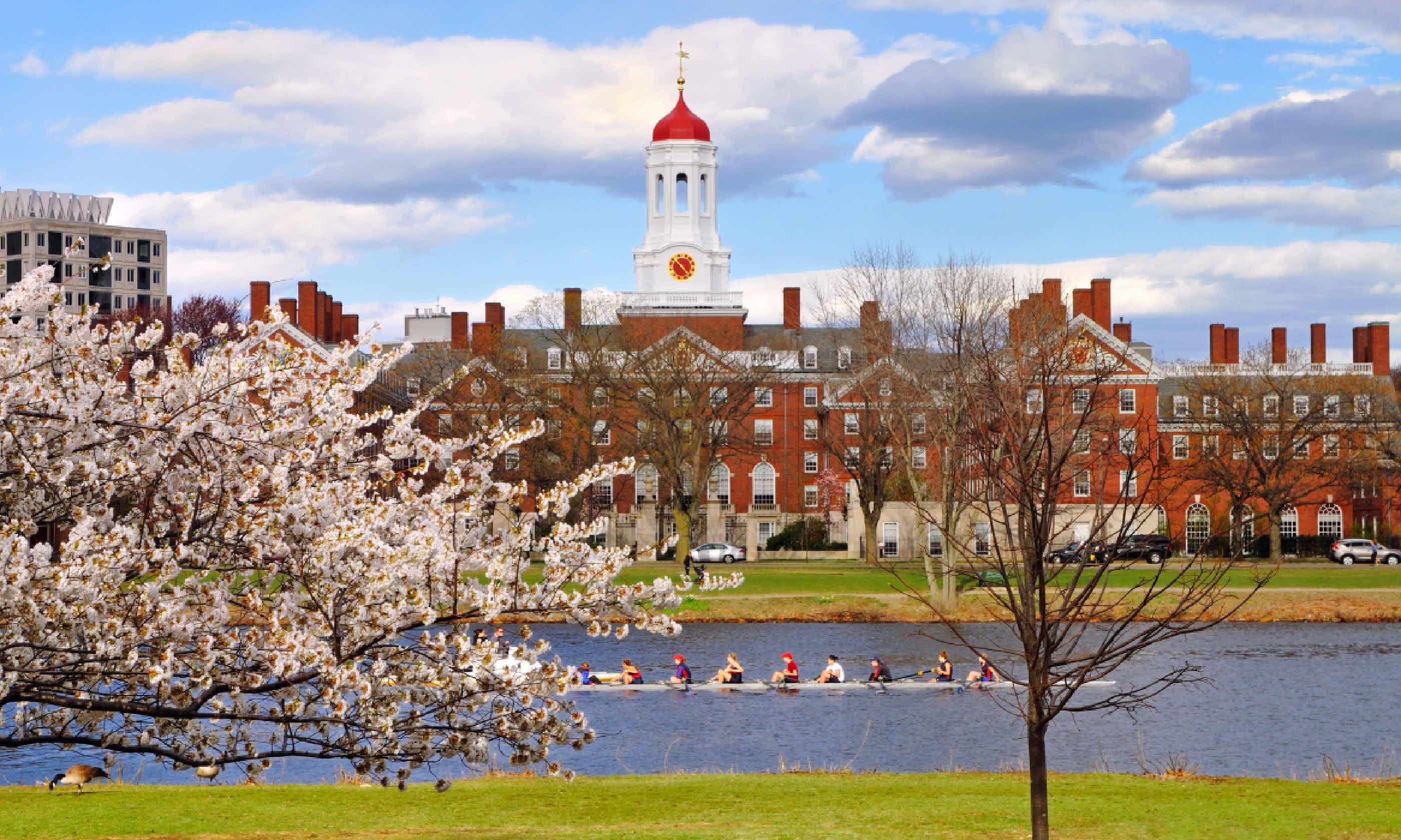 Harvard University in the spring (Shutterstock)
