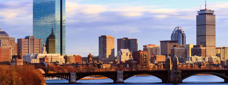 Back Bay Boston Skyline (Shutterstock: see credit below)