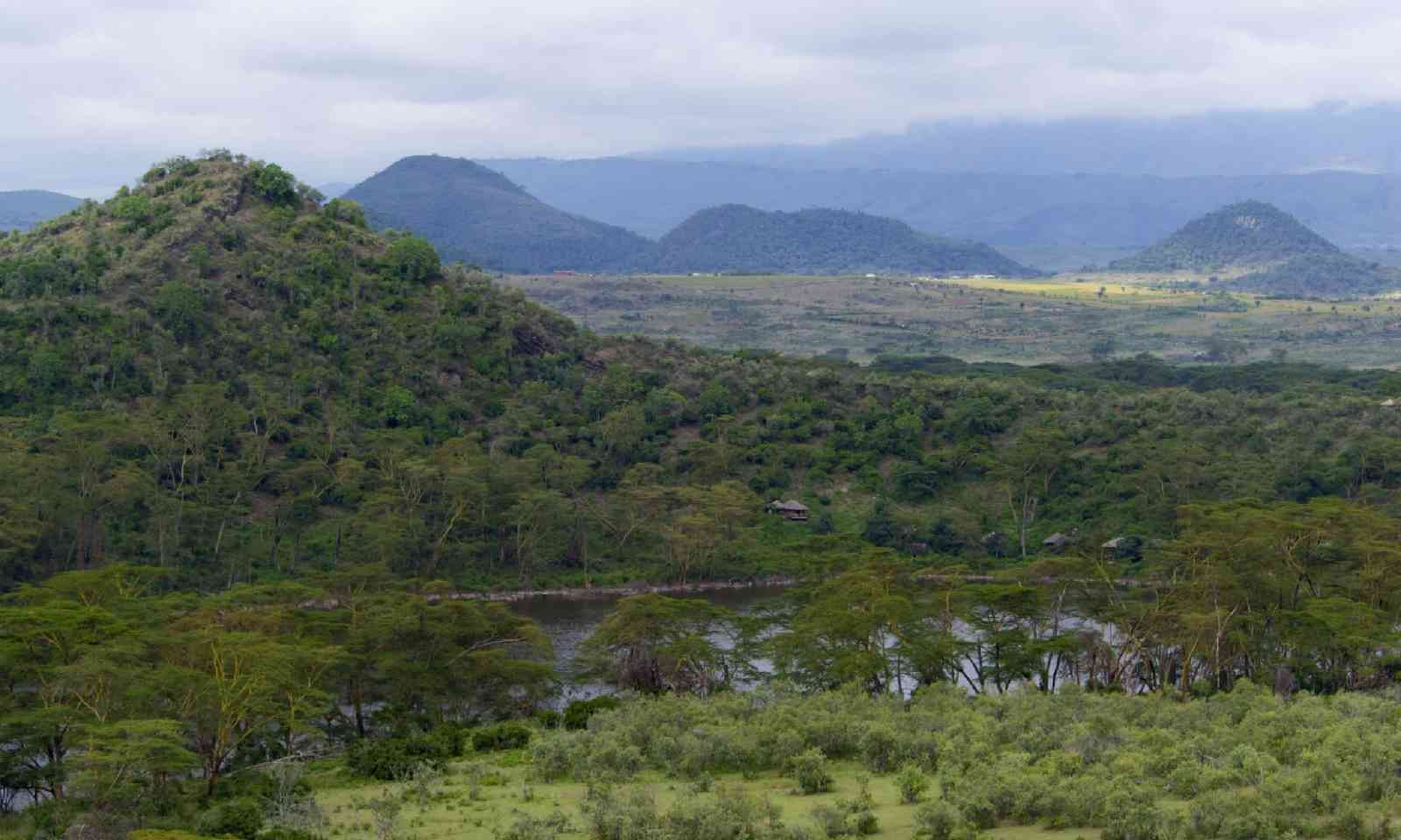 Green hills and mountains in Great Rift Valley, Kenya (Shutterstock)
