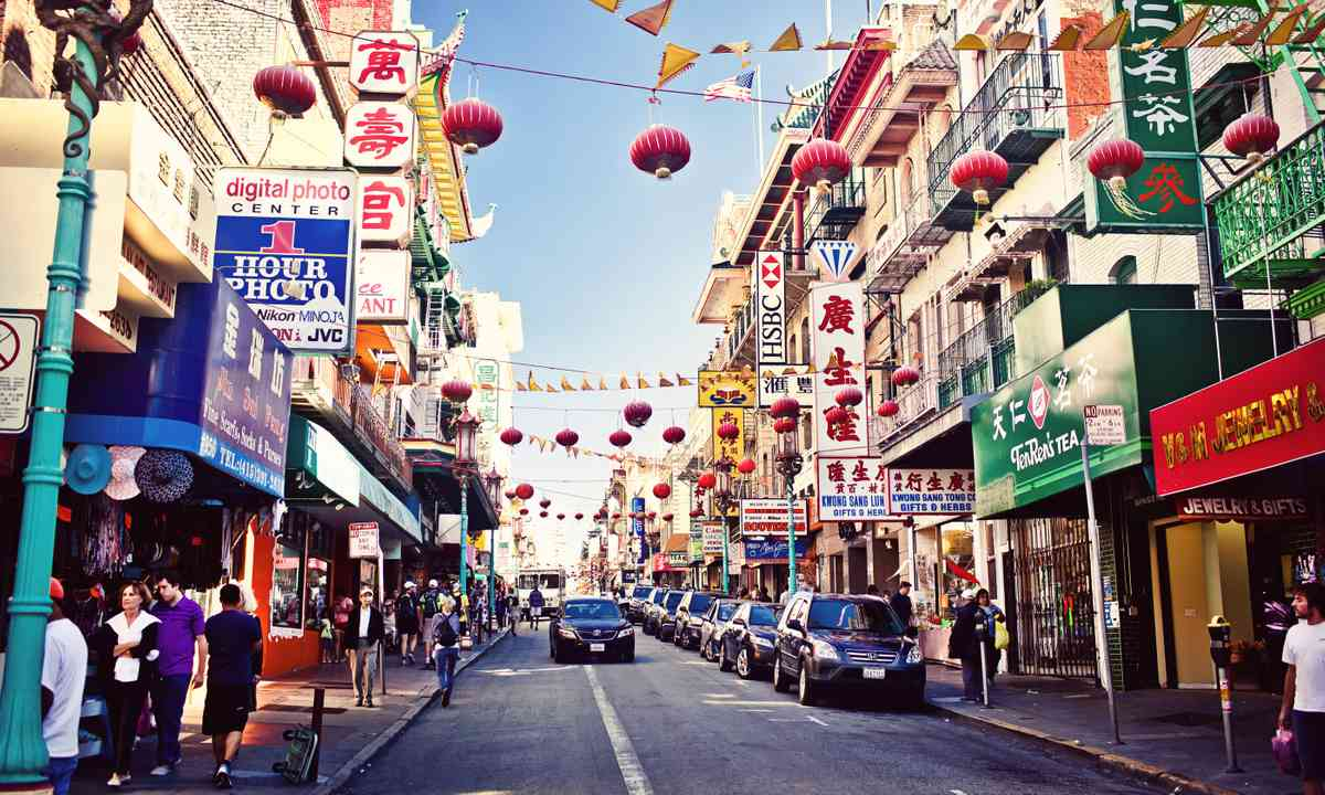 Chinatown, San Francisco (Dreamstime)