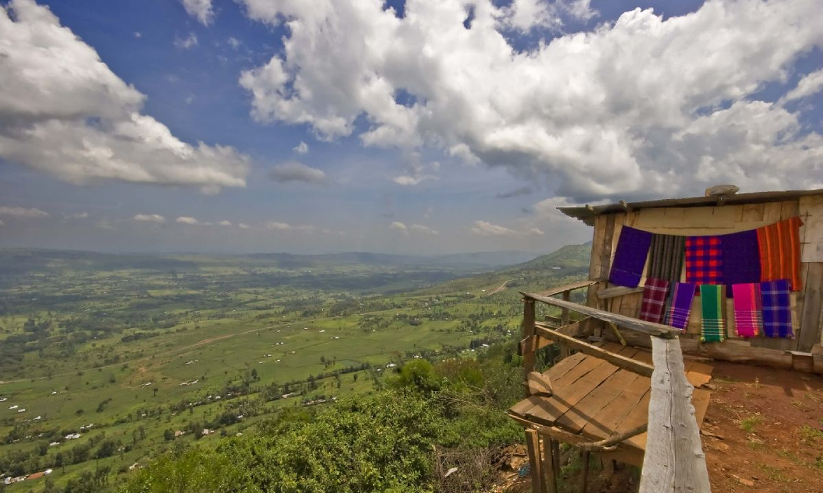 Walking in Kenya's Great Rift Valley