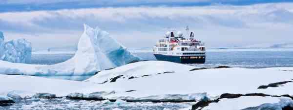 Cruise ship in Antarctic waters (Shutterstock: see credit below)