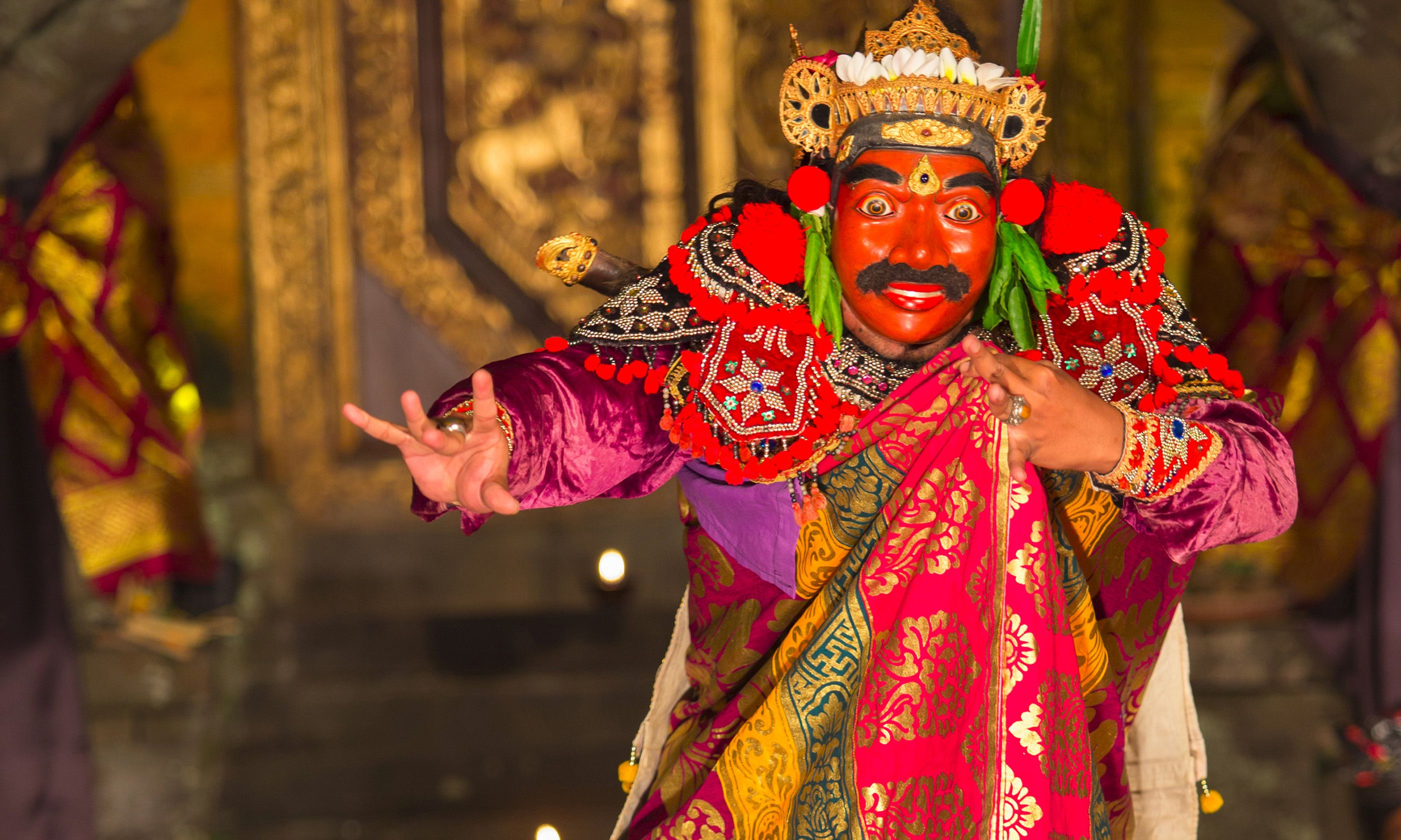 Traditional dancer in Ubud (Shutterstock.com)