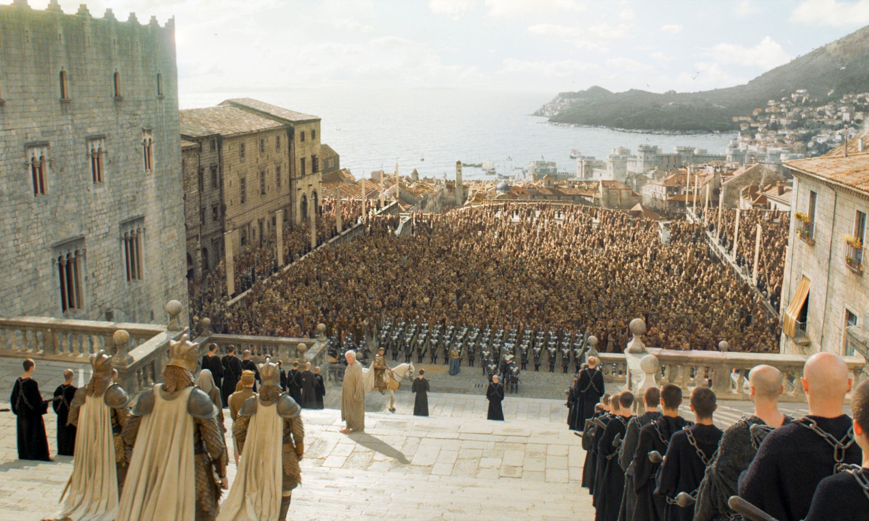 A digitally modified Dubrovnik (HBO)