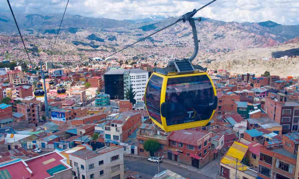 Urban cable car, La Paz (Shutterstock)