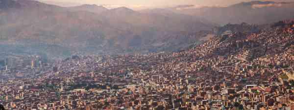 La Paz at dusk (Shutterstock: see credit below)