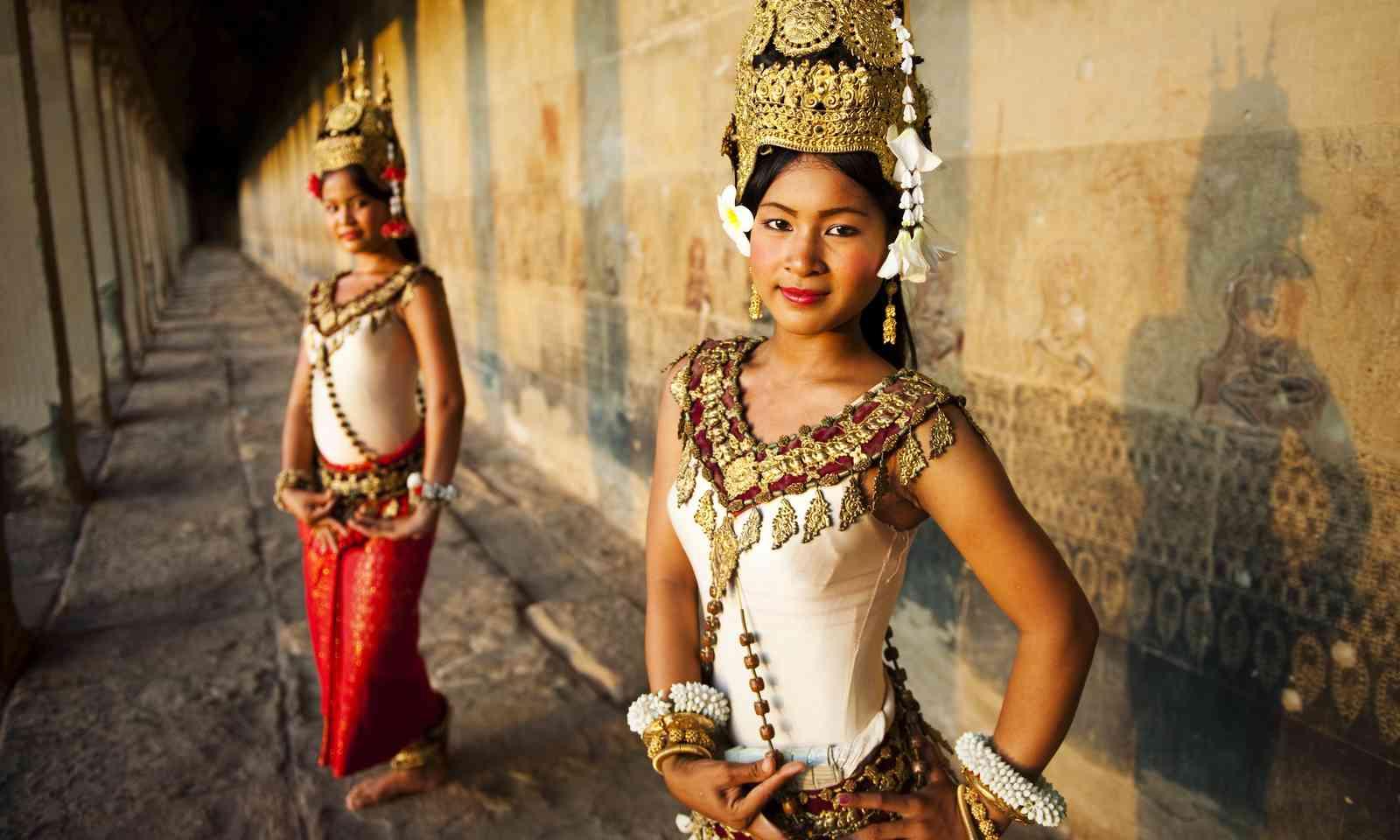 Traditional Aspara dancers in Siem Reap (Dreamstime)