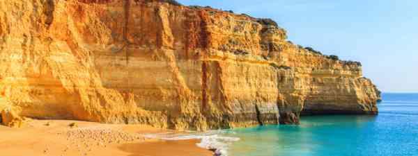 Praia de Benagil in Algarve region (Shutterstock: see credit below)