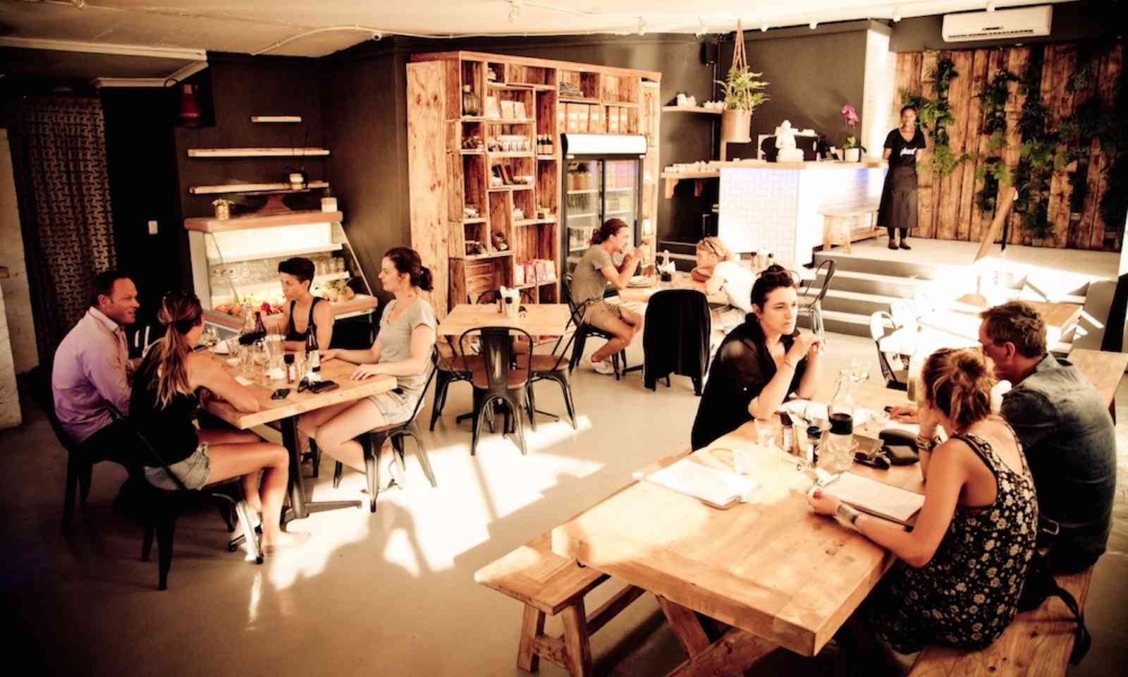 Diners at Plant Cafe (Plant Cafe)