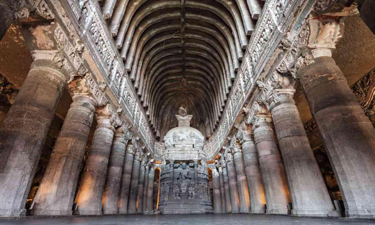 Ajanta caves near Aurangabad (Shutterstock)