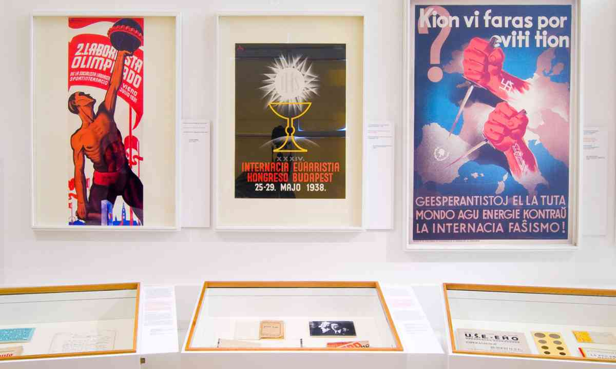Posters in Esperanto (esperantomuseum.at)