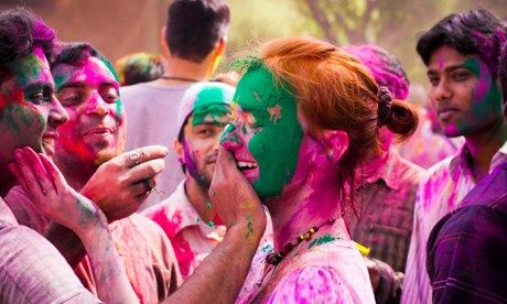 Holi in India (Shutterstock.com)