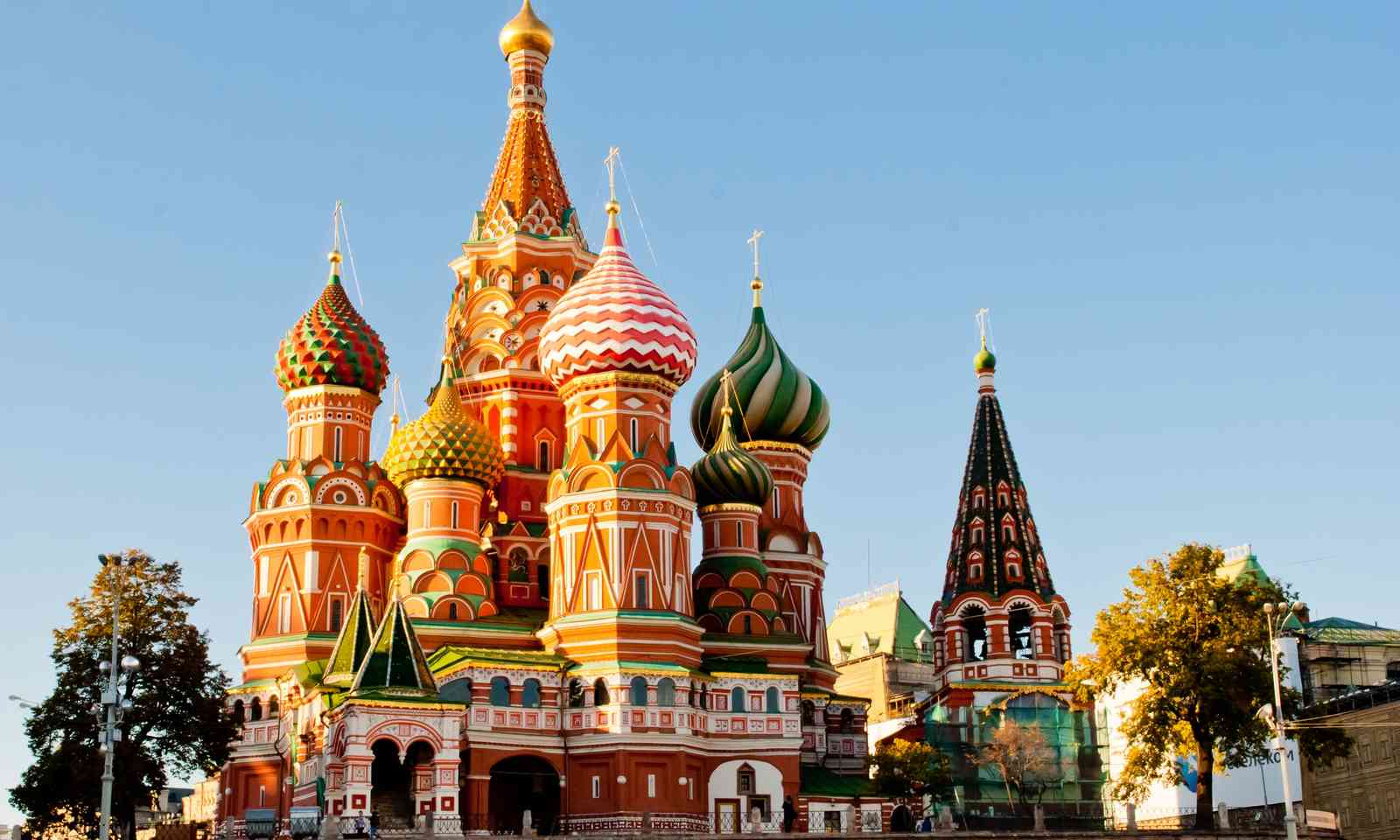 St Basil's Cathedral. Colourful. (Dreamstime)