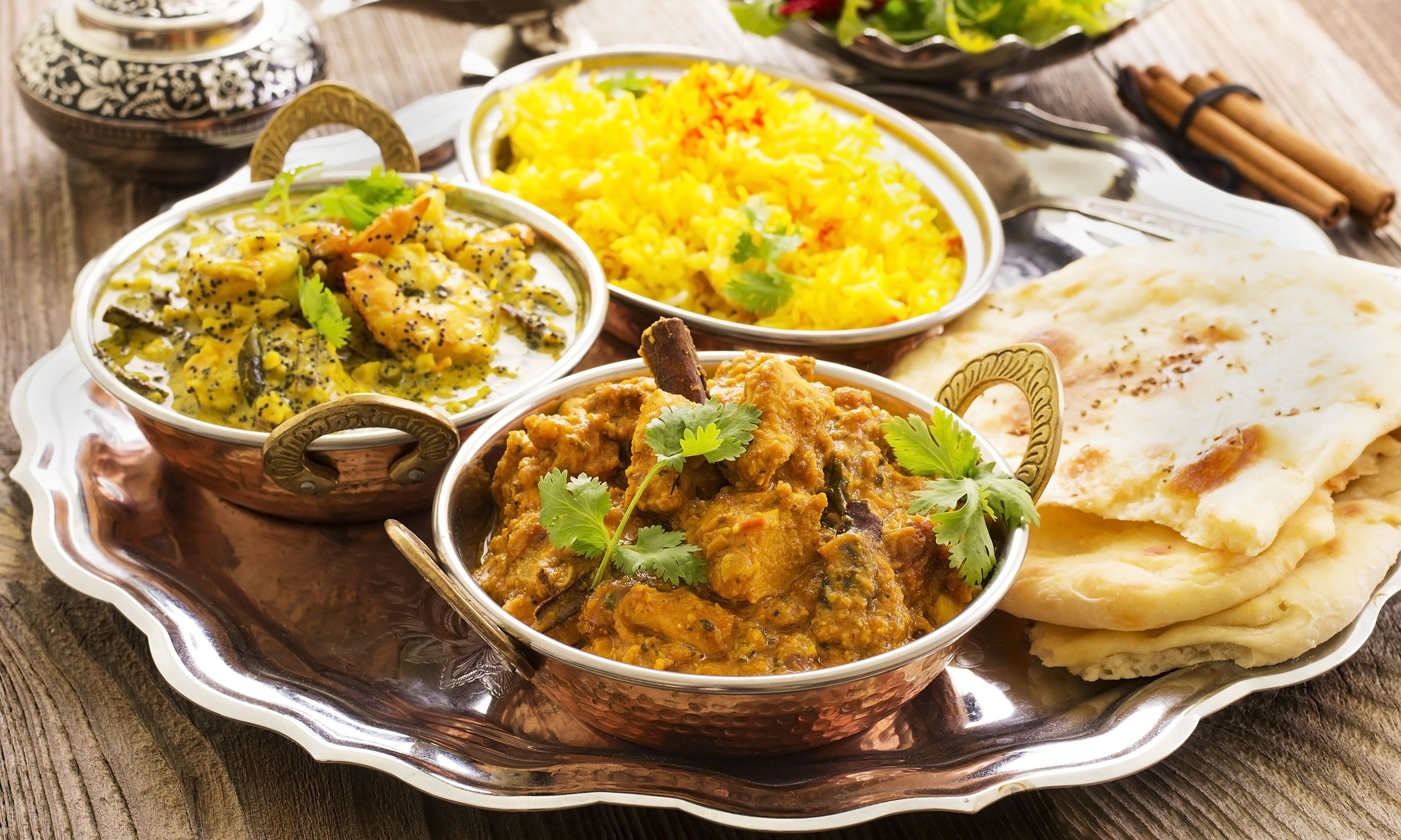 Indian cuisine (Shutterstock.com)