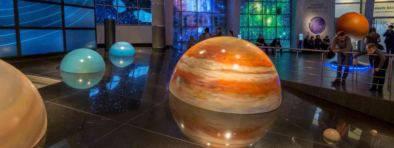 Inside Moscow Planetarium (Dreamstime)