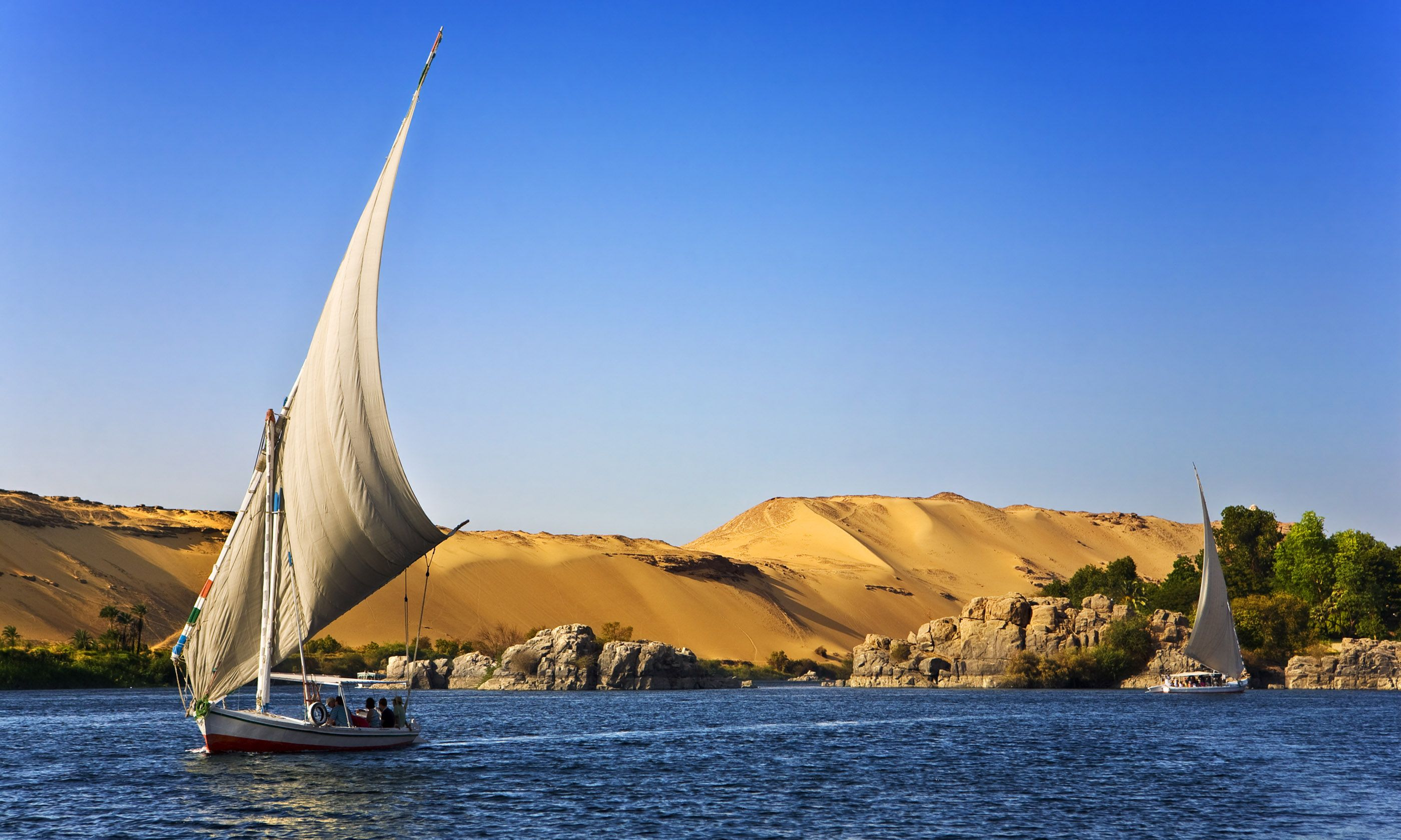 The Nile at Aswan (Shutterstock.com)
