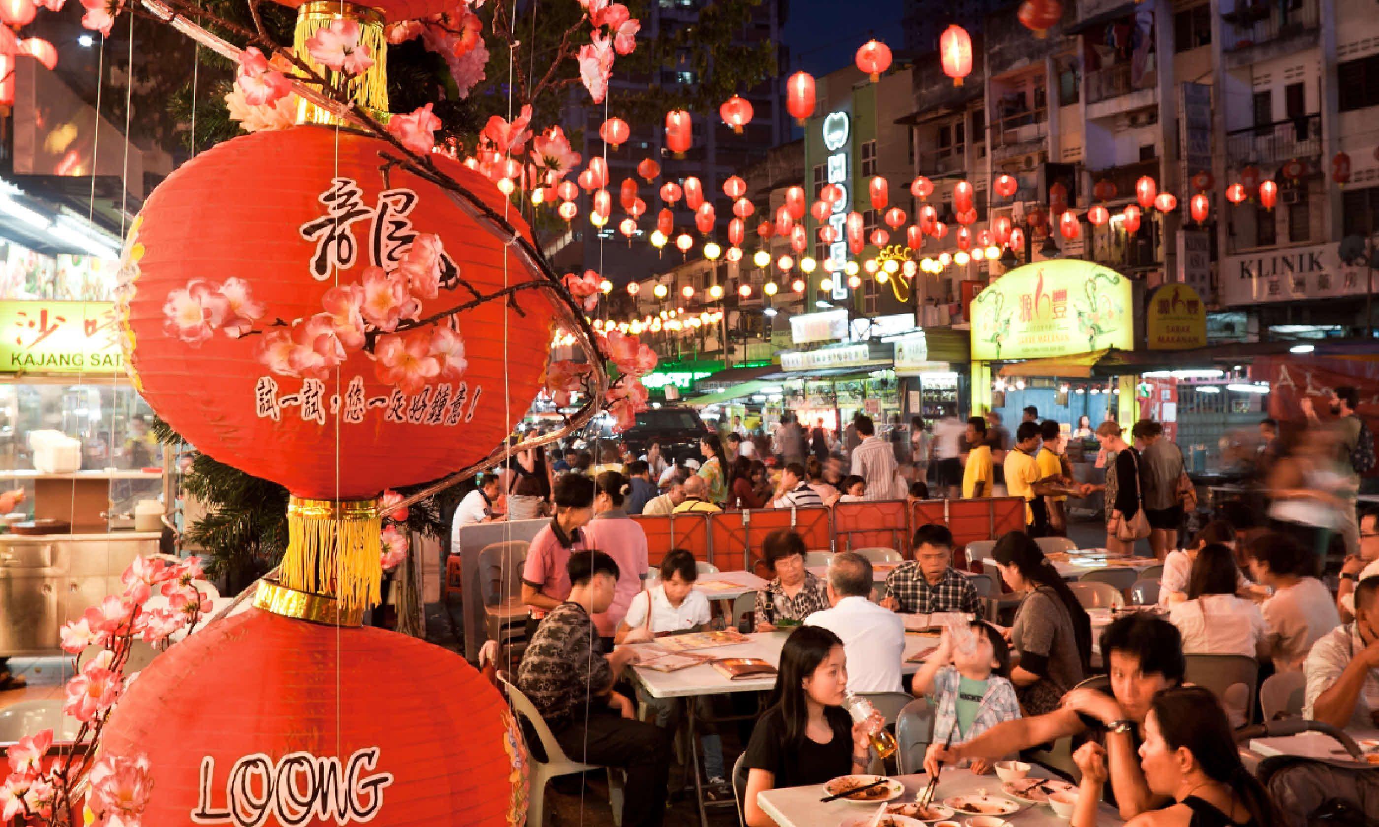 Street restaurant in Kuala Lumpur (Shutterstock)