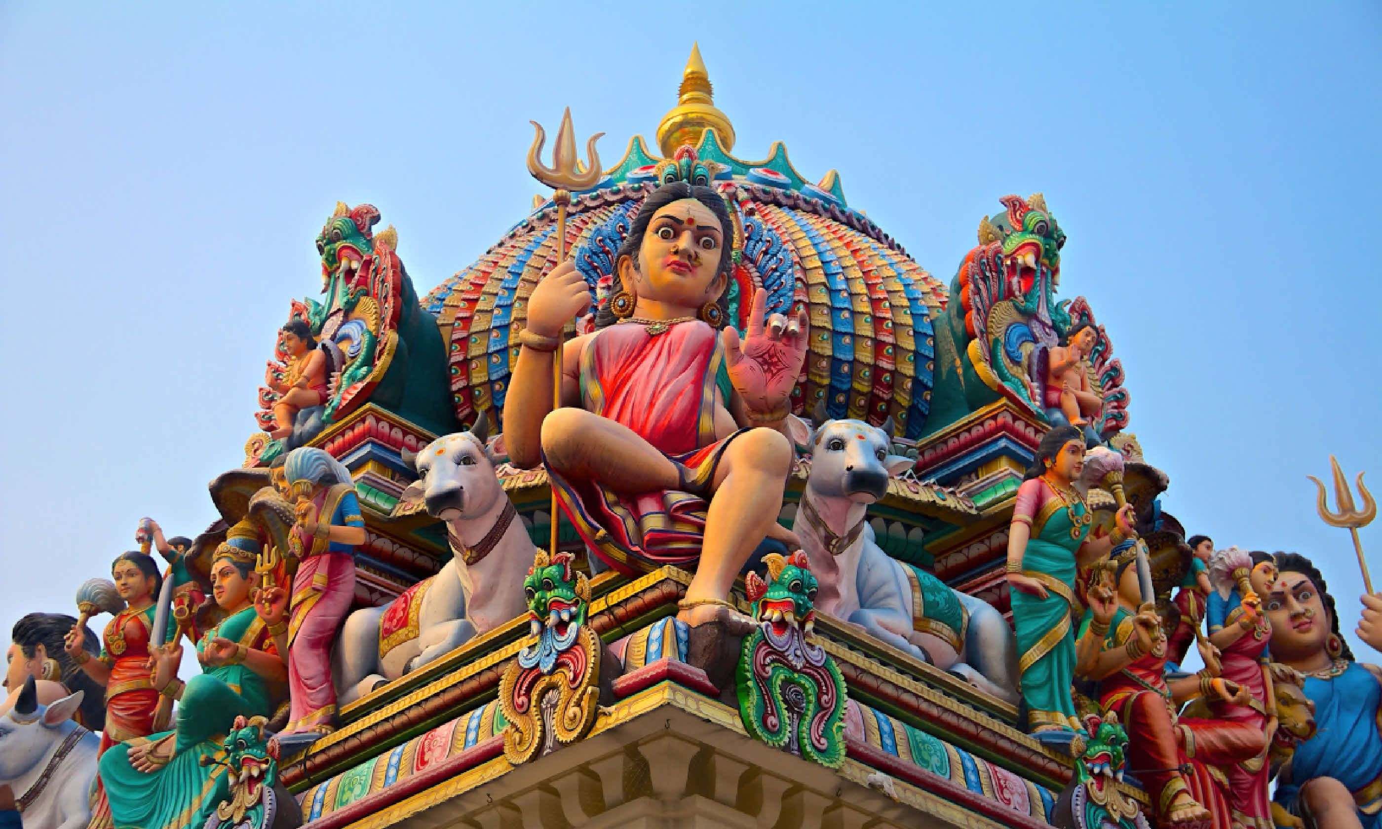Sri Mariamman hindu temple in Singapore (Shutterstock)