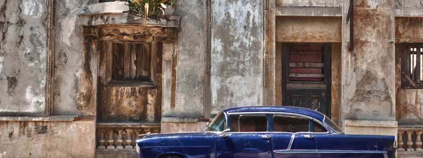 Vintage car in Havana (Dreamstime)