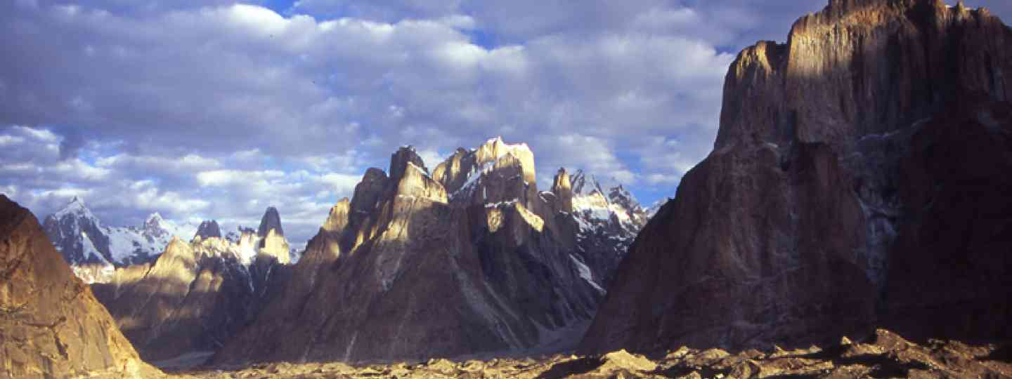 Trango Towers, Karakoram mountain range, northern Pakistan (Photo: J Turner / Mountain Kingdoms)