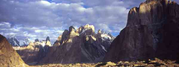 Trango Towers, Karakoram mountain range, northern Pakistan (Photo: J Turner / Mountain Kingdoms)