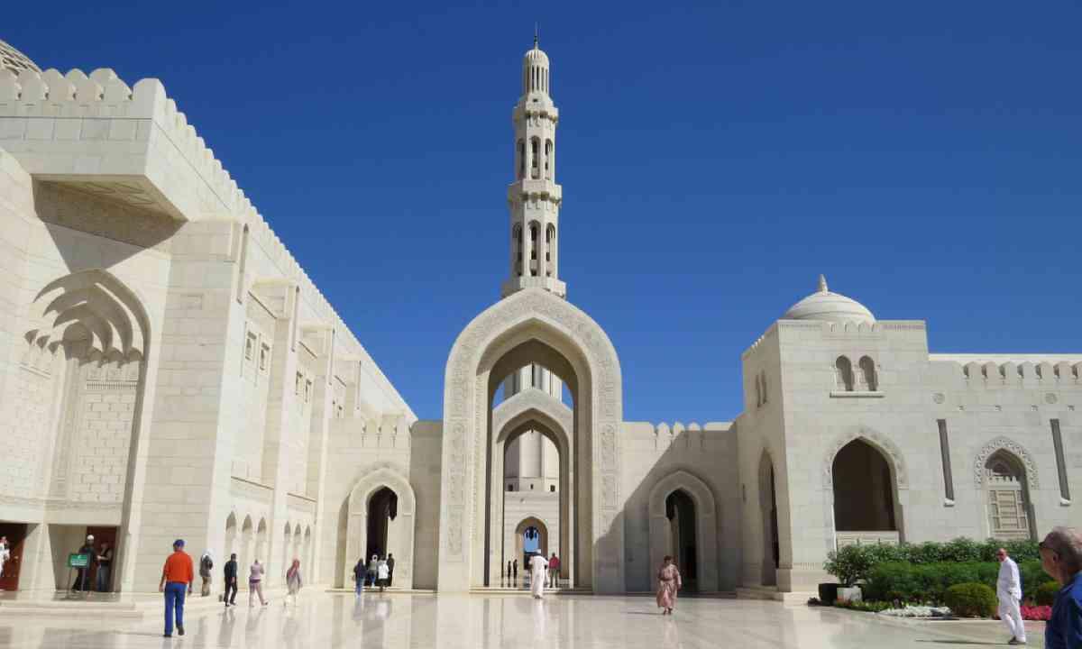 Sultan Qaboos Grand Mosque (Photo: Hazel Plush)