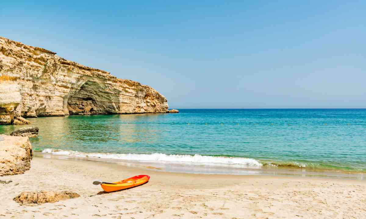 Bar al Jissah beach, east of Muscat (Shutterstock)