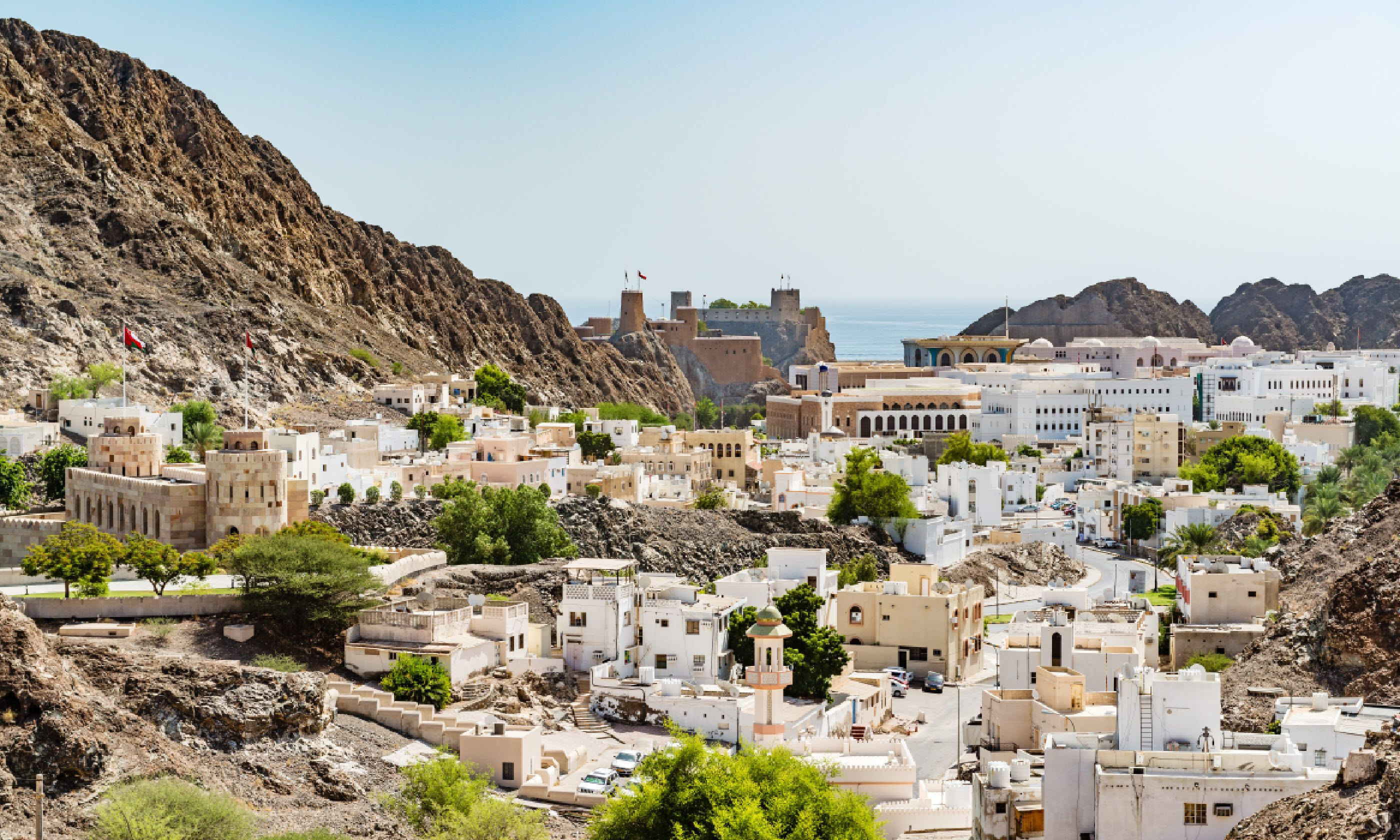 On the road to Old Muscat (Shutterstock)