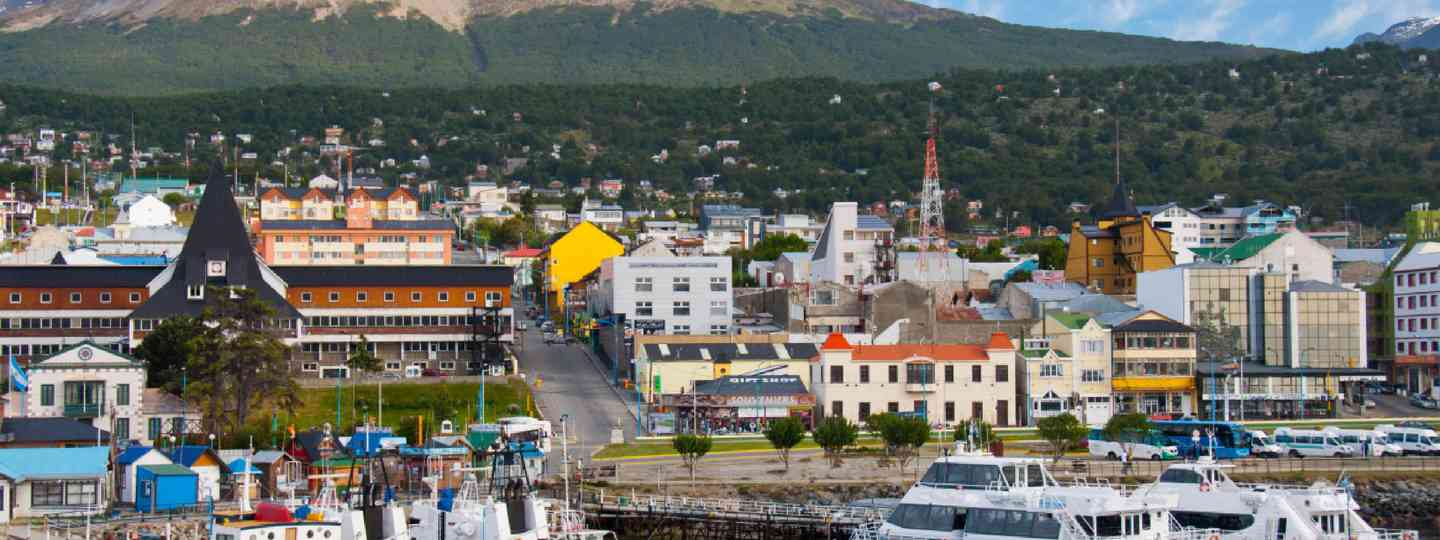 Ushuaia Harbor (Shutterstock: see credit below)