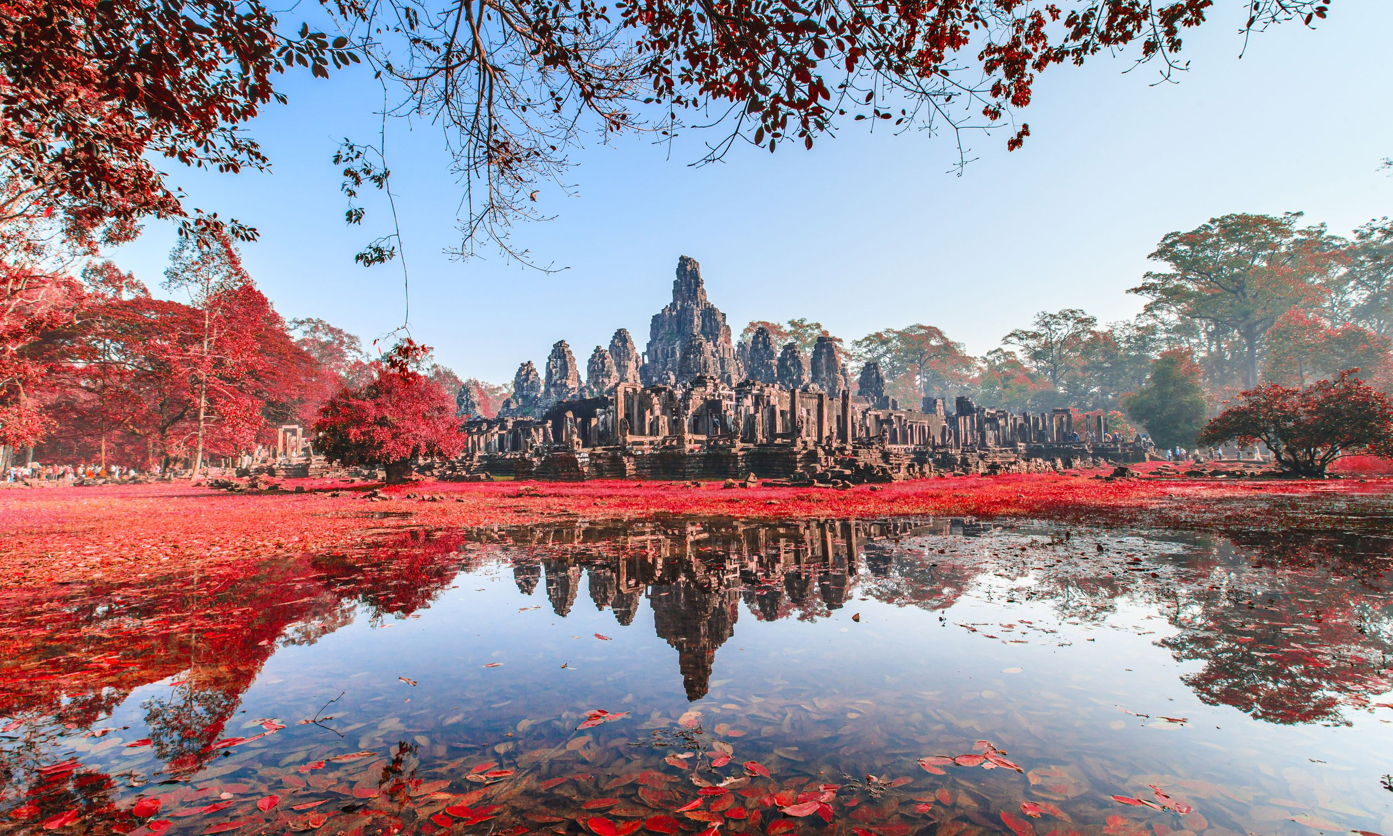 Bayon castle, Cambodia (Shutterstock)