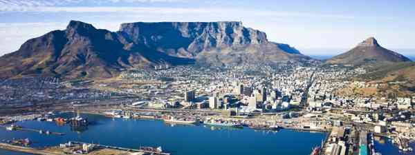 Aerial view of Cape Town (Shutterstock: see credit below)