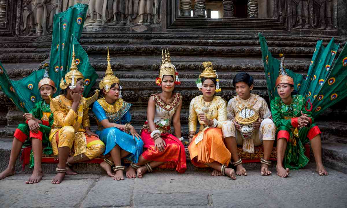 Traditional dancers, Siam Reap (Shutterstock)