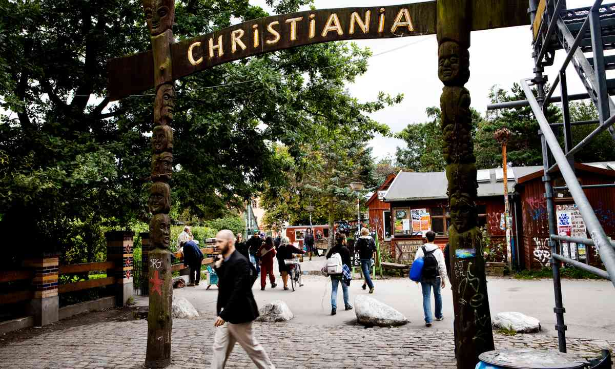 Entrance to Christiana (Visit Copenhagen/Ty Stange)