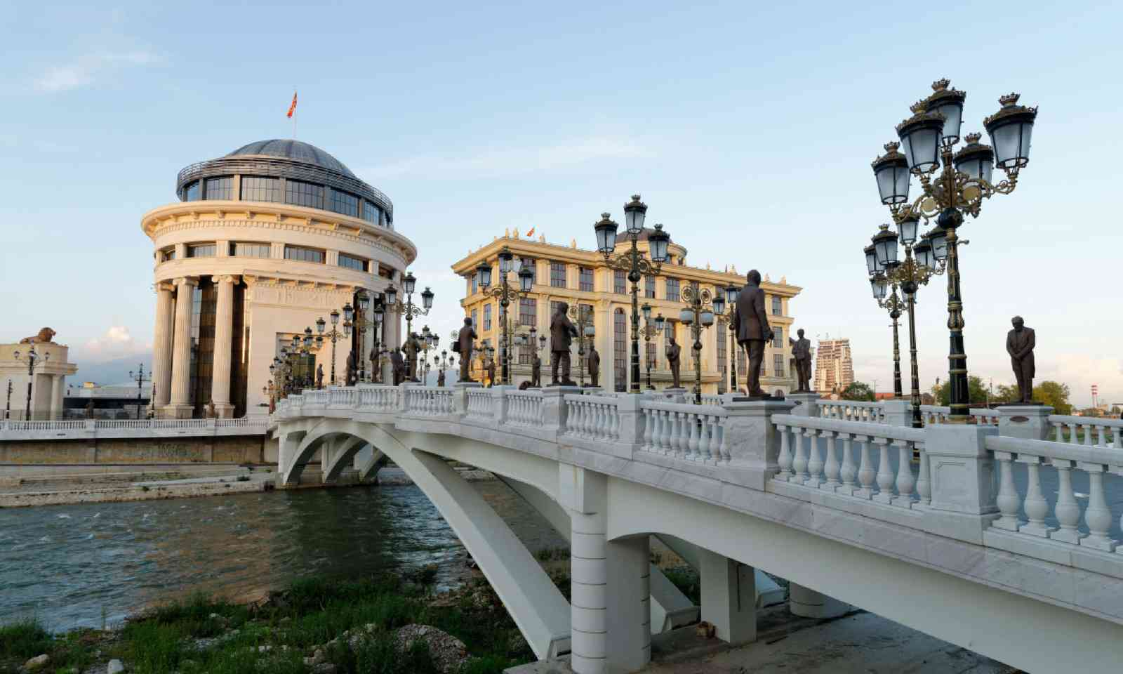 Downtown Skopje (Shutterstock)