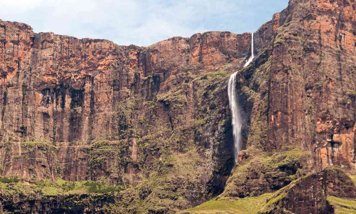 Tugela Falls, South Africa (Shutterstock)