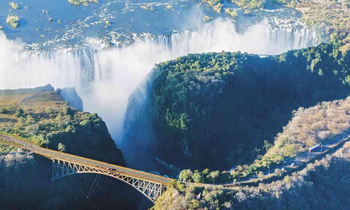 Victoria Falls, Zimbabwe (Shutterstock)