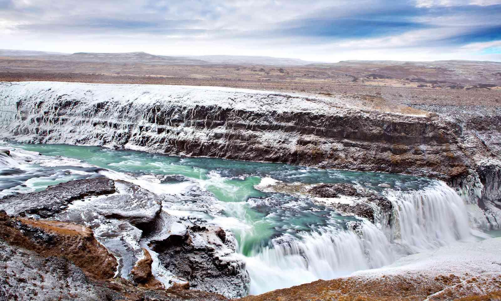 Gullfoss, Iceland (Shutterstock)