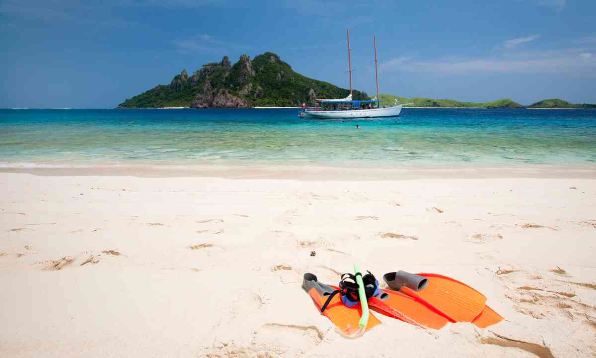 A remote beach in Fiji (Dreamstime)