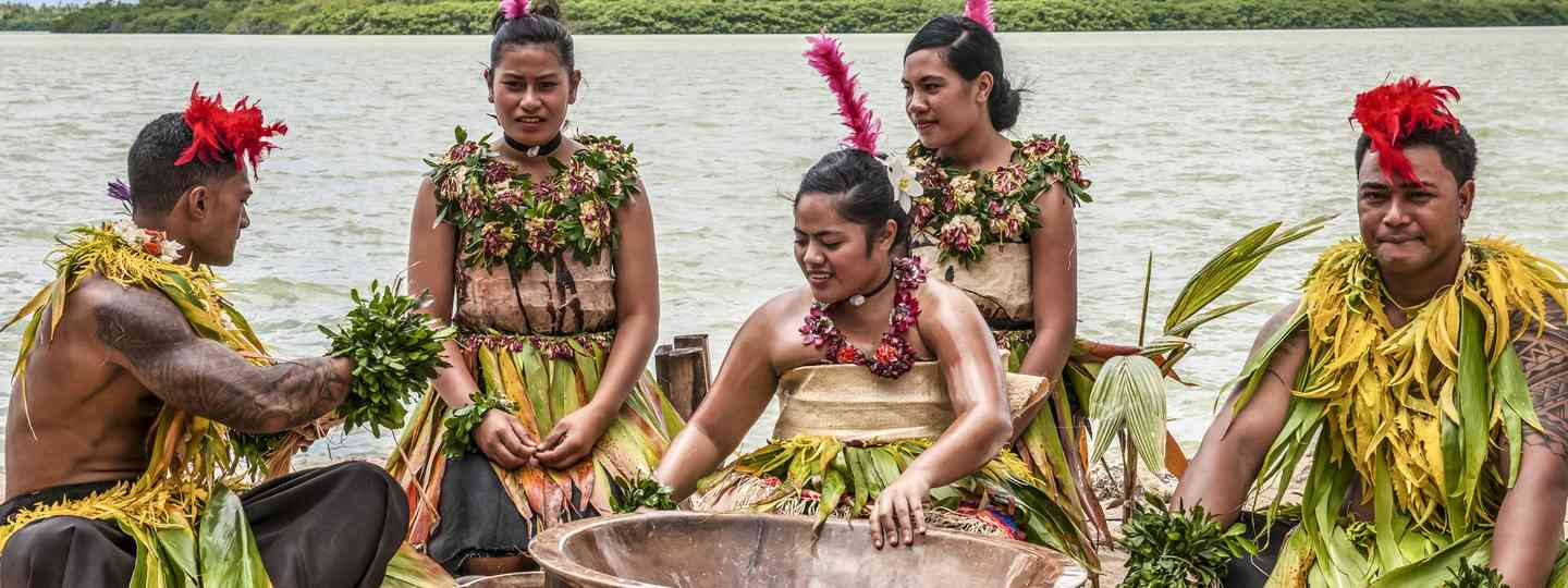 Traditional ceremony, Tonga (Dreamstime)