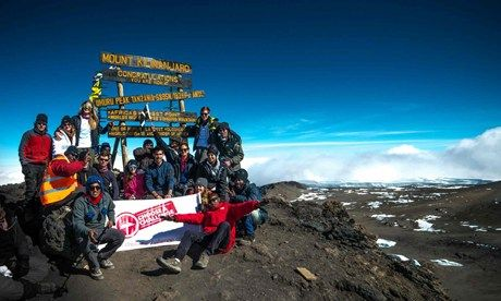 On top of Kili (Abhimanyu Bose)