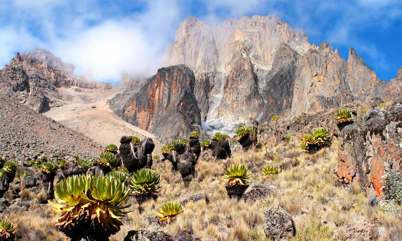 Mount Kenya. Via ferrata not shown. (Dreamstime)
