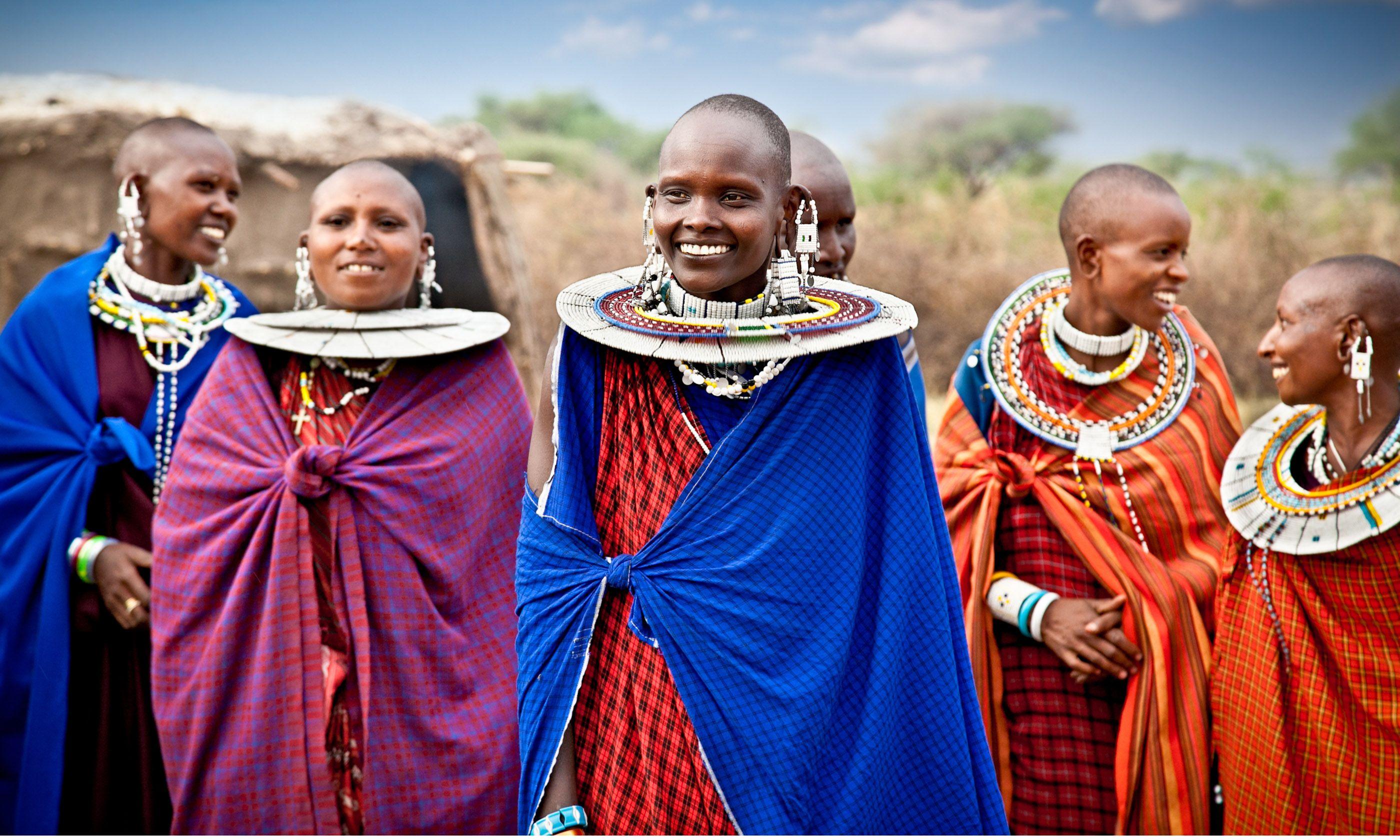 Maasai women (Shutterstock)