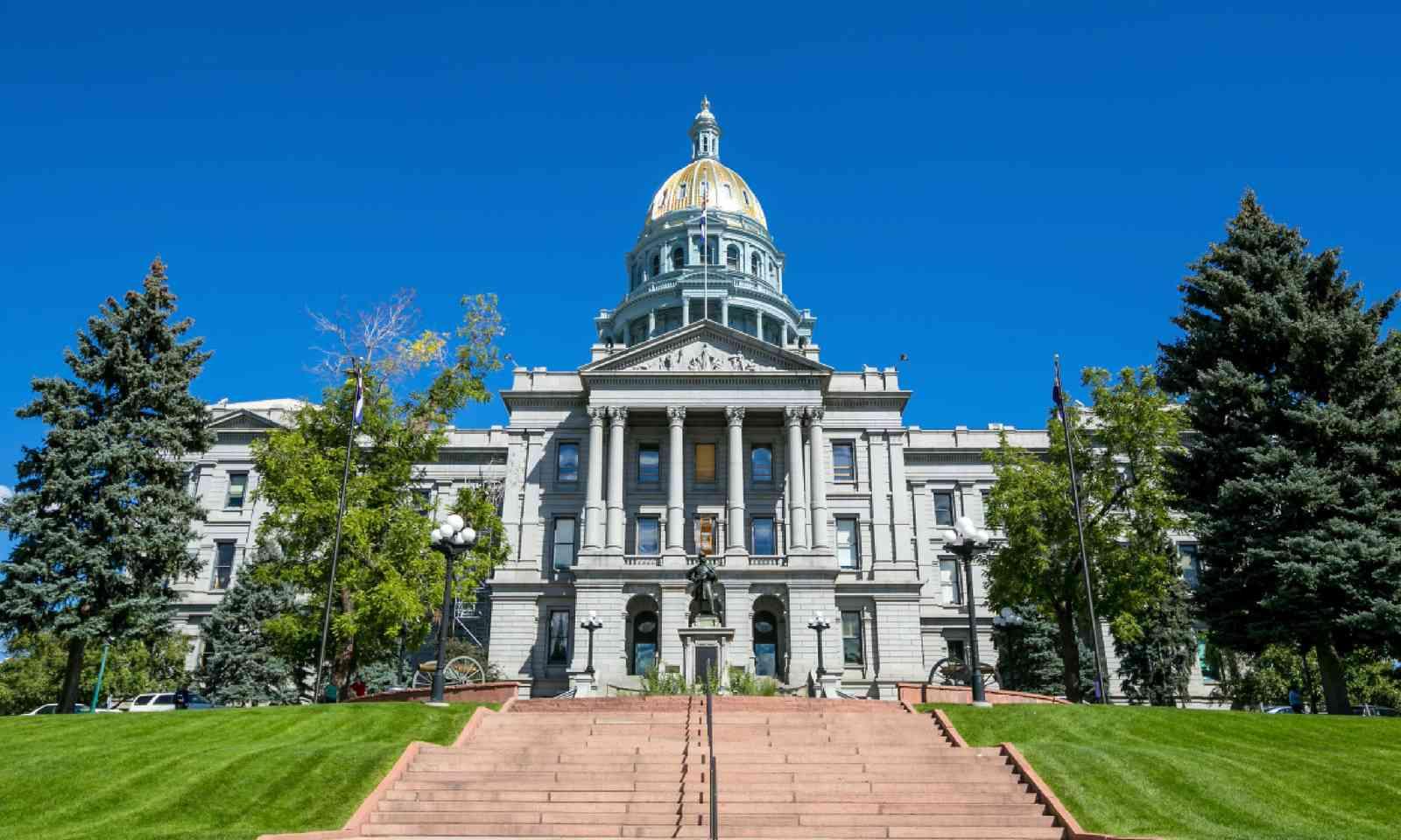 Colorado State Capitol Building (Shutterstock)