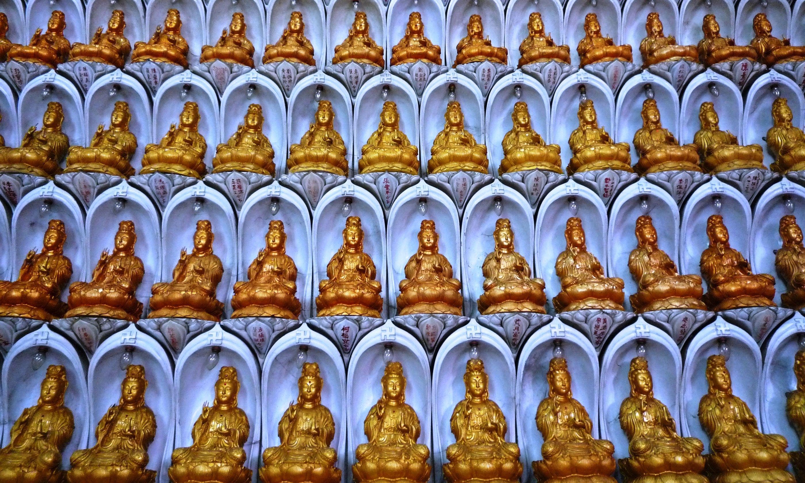 Kuan Yin statues (Dreamstime)