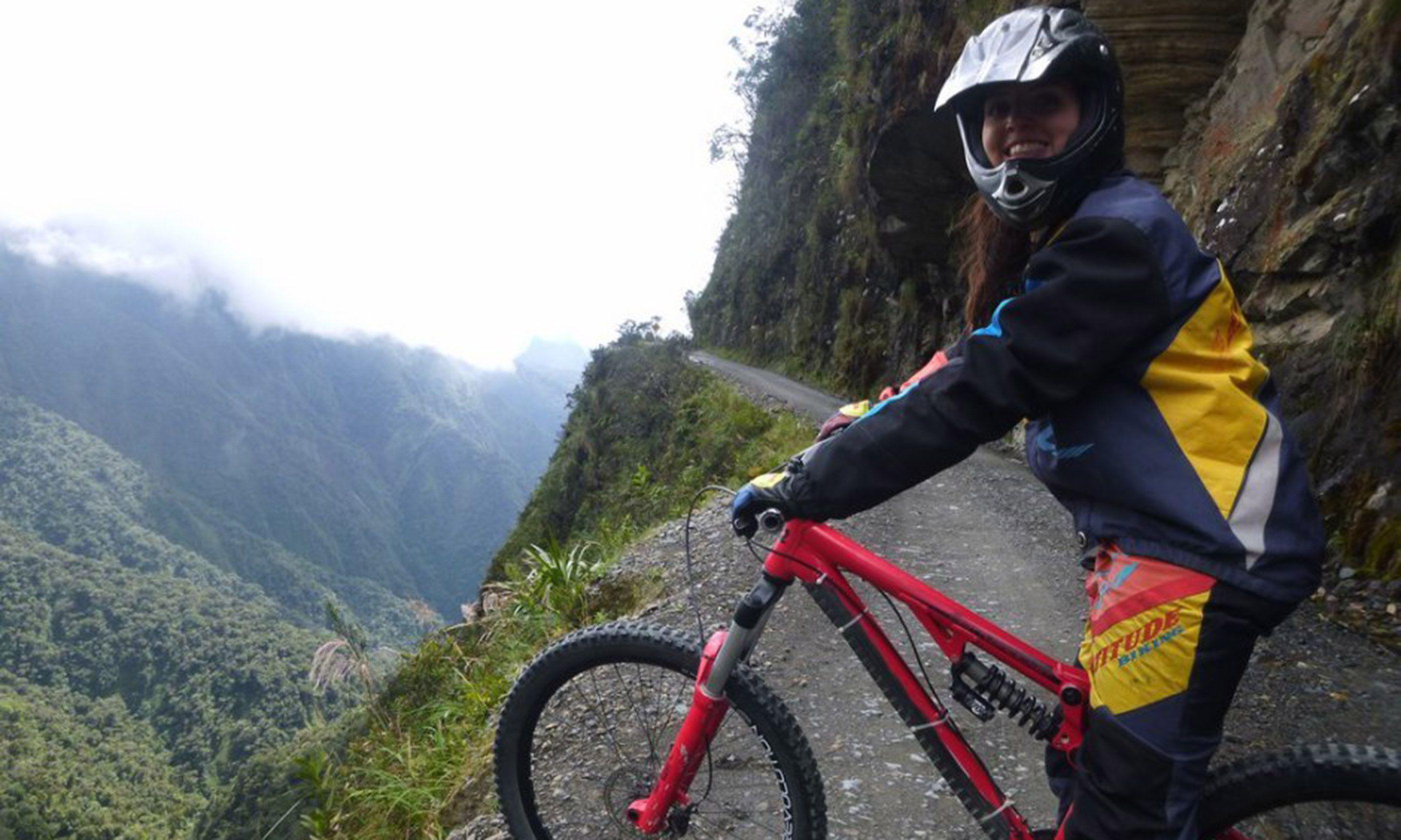 Biking Bolivia's notorious Death Road (Kelly Ross)
