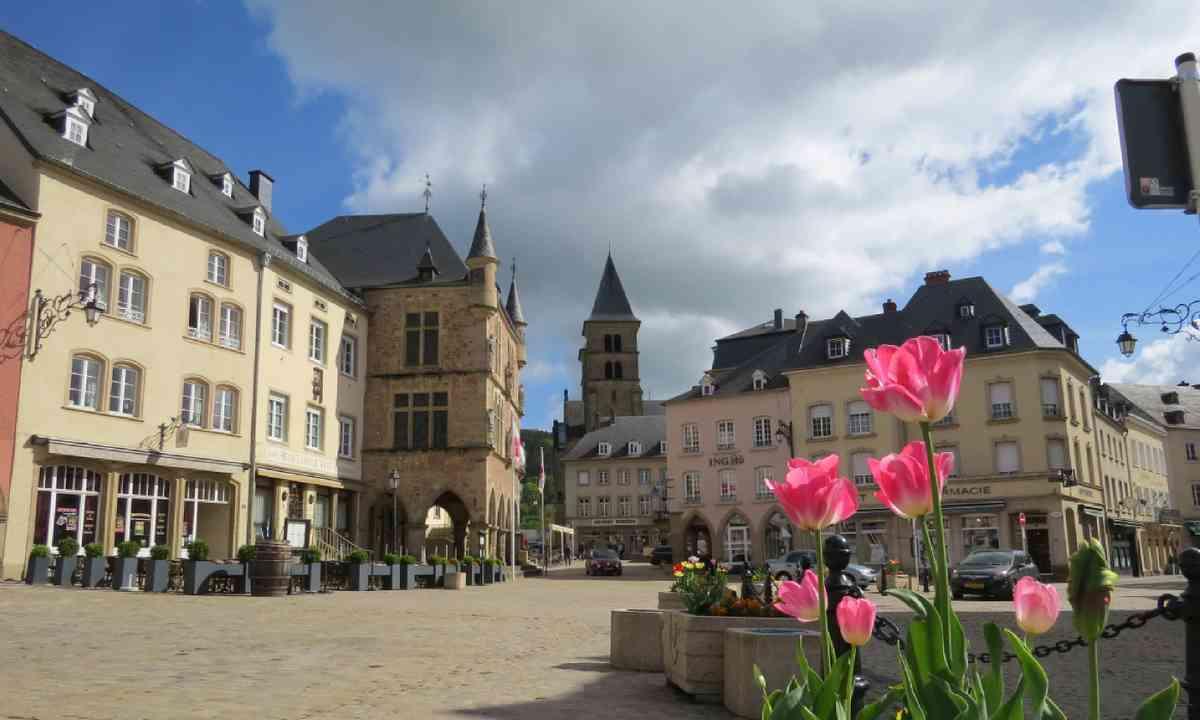 Echternach town centre (Hazel Plush)